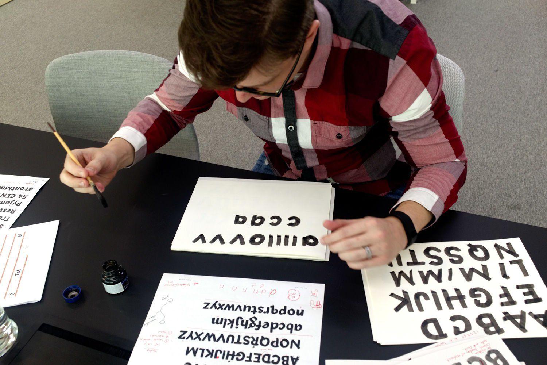 comment créer typographie