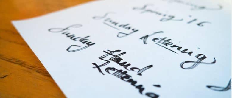 La typologie d'une typographie